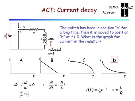 inductor current r lecture 27 inductors stored energy lr circuits