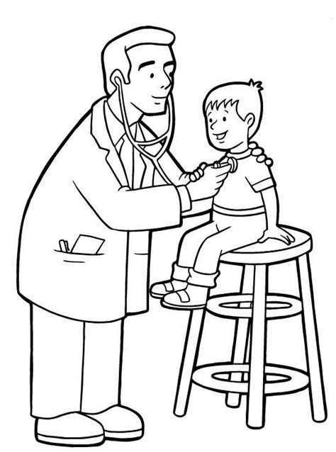 what kind of doctor is house doctors coloring pages coloring pages for kids