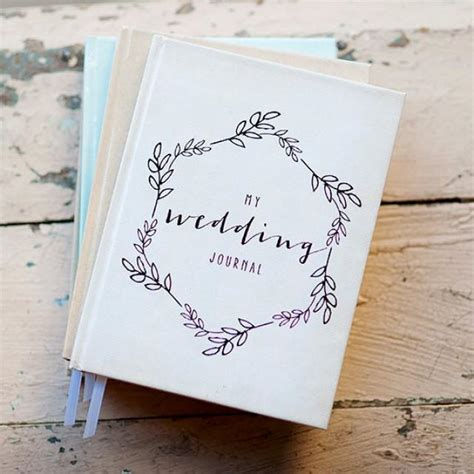 design custom journal wedding journal notebook wedding planner personalized