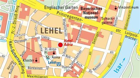 Englischer Garten München Anfahrt U Bahn by Hotel Anfahrt Und Wegbeschreibung Nach M 252 Nchen Zum Hotel