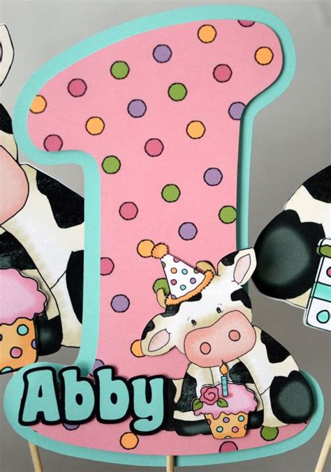 17 best ideas about cow birthday on