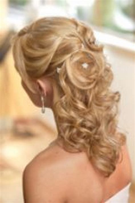 partial updos for medium length hair half up half down wedding hairstyles for medium length hair