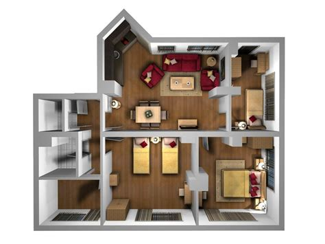 home design furniture placement interior plan houses birdseye 3d furniture layout