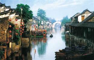 Famous Movie Houses xitang water town hangzhou attractions sightseeing