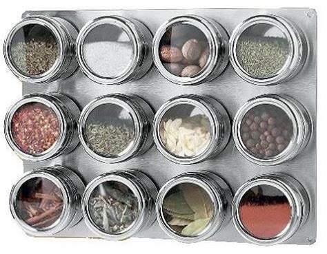 Magnetic Spice Jars Click Magnetic Spice Rack Eclectic Spice Jars And