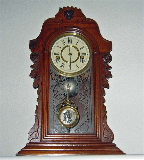 wood mantel clock can anyone tell me about it collectors weekly