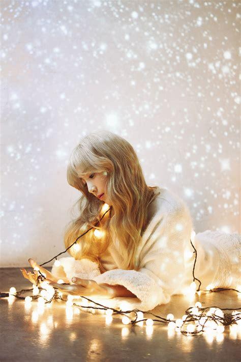 Photocard Taeyeon Dear Santa girls generation tts to release winter mini album dear santa