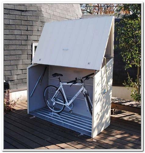 Upright Bike Shed by Clever Outdoor Bike Storage Bike Box Bike