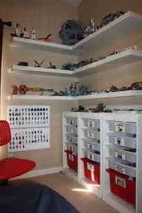 lego shelves for storage clay s lego corner creation station made using ikea