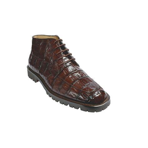 belvedere boots belvedere ugo crocodile boots brown mensdesignershoe