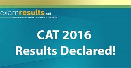 Mba Results 2016 by Cat 2016 Snap 2016 Results Declared On Same Day 9 Jan