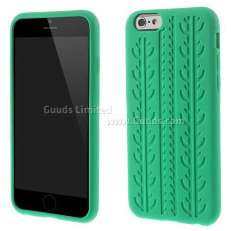 Silicon I Phone Inch tyre silicone for iphone 6 6s 4 7 inch green