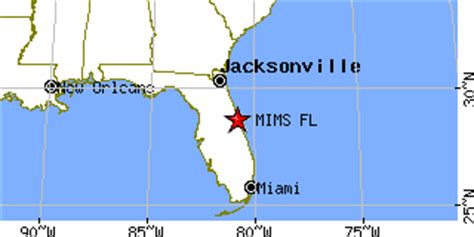where is mims florida on map mims florida fl population data races housing economy