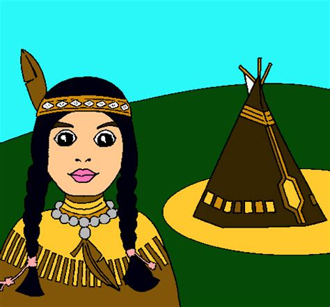 imagenes animadas indigenas ni 241 o indigena dibujo imagui