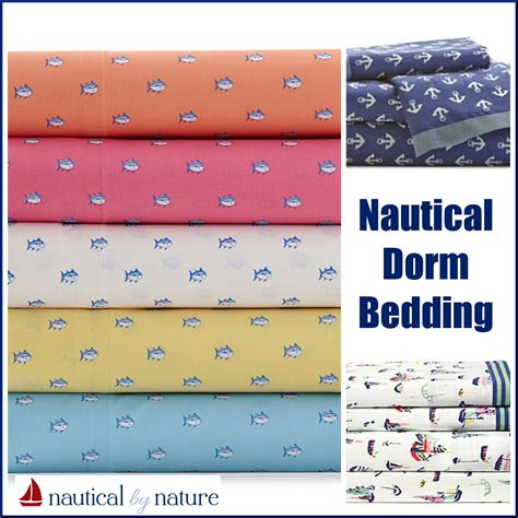 Nautical Bed Sheets by Nautical By Nature Decor Nautical Bedding