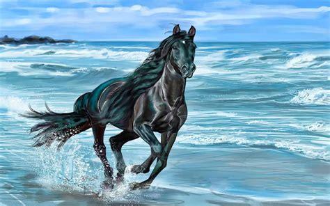 wallpaper for desktop running horse running horse hd wallpapers