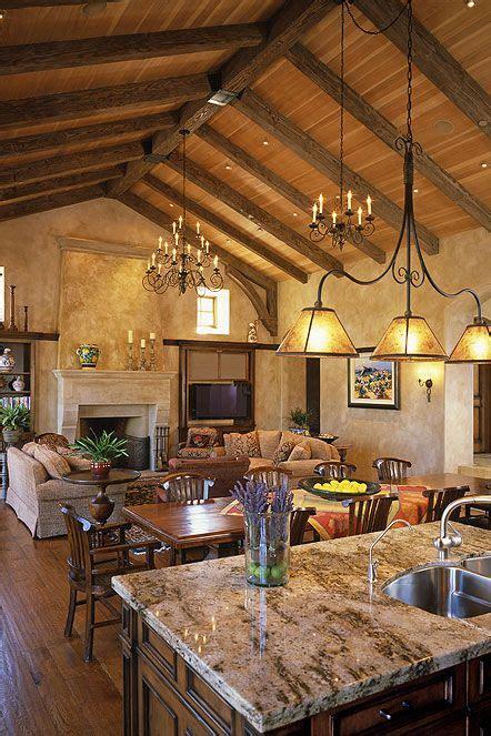 italian mediterranean great room dream home pinterest