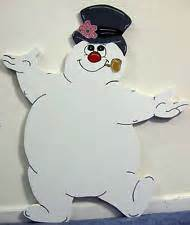frosty snowman christmas lighted yard decoration ebay