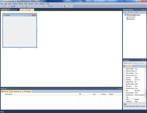 vb net form templates amol nalge vb net