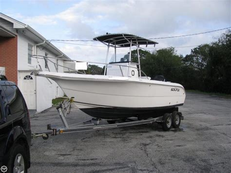used boats for sale in titusville fl 2004 used sea fox 210 center console fishing boat for sale