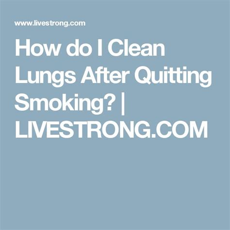 Can I Smoke Cigarettes While Detoxing by 25 Best Ideas About After Quitting On
