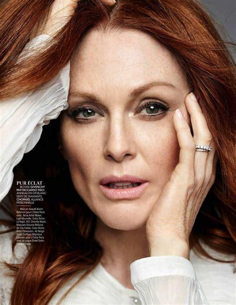 julianne moore julianne moore in madame figaro magazine france november