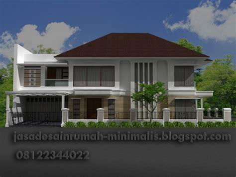 desain rumah betawi modern jasa desain rumah minimalis modern