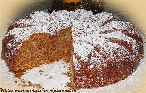Hildes Weihnachtlicher Apfelkuchen Eisib 228 R Chefkoch De