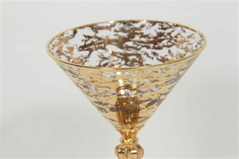 Decorated Margarita Glasses by Set Of Ten Decorated Martini Glasses At 1stdibs