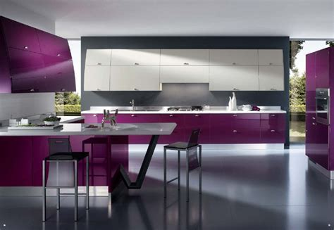 Kitchen Decorating Using Purple Kitchen Accessories