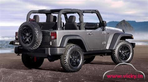 Jeep Wrangler In India Price Jeep India To Launch Grand And Wrangler On 1st