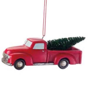 pickup truck christmas ornaments