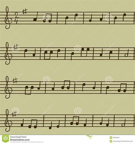 seamless pattern music melody song melody seamless stock image image 32816261