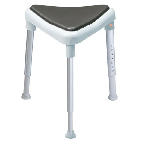Padded Stool by Etac Edge Padded Shower Stool Blue Etac Shower Stools