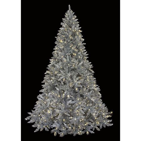 silver christmas trees shop collectibles online daily
