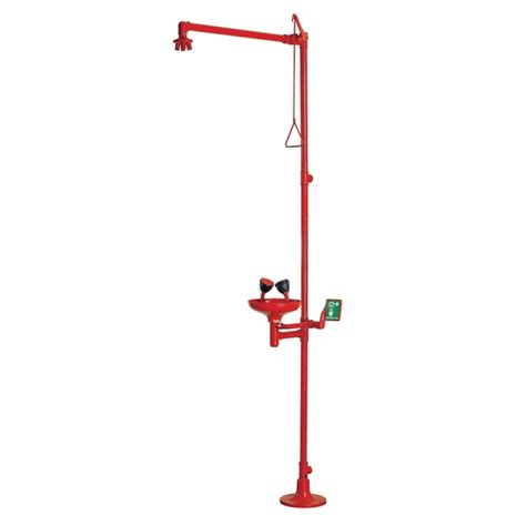 Bath Shower Units Combined emergency overhead shower amp eye wash station