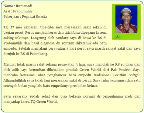 Obat Stroke Ringan Teruh Lecithin Softgel Green World cara pemesanan lecithin softgel green world asli