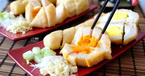 spot salted egg  mozzarella savory fish cakes