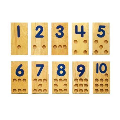 Kitchen Dollhouse Furniture 58476e Peg Number Boards 10 Boards 60 Pegs Ningbo Viga
