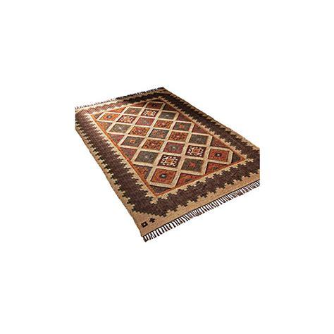 brown rug runner wool and jute brown kilim rug runner by jones vintage notonthehighstreet