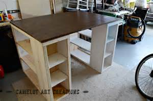camelot creations diy craft table part 1 white