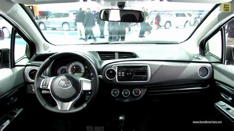 2013 Yaris Interior by 2013 Toyota Yaris Se At 2013 Detroit Auto Show