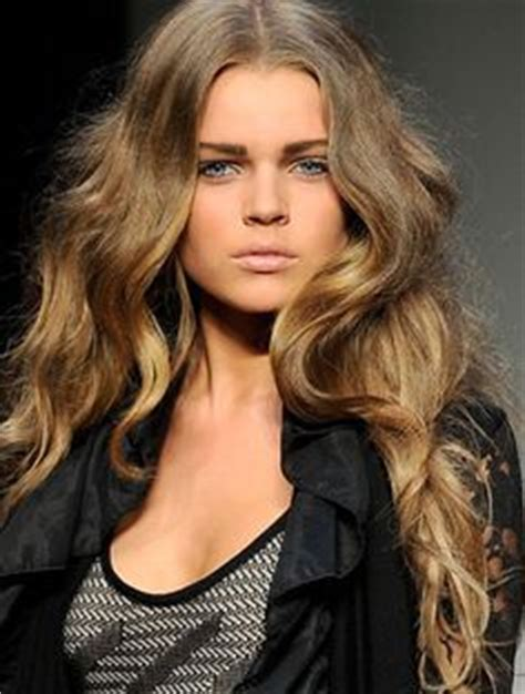 Hair Color For Dishwater | dishwater blonde hair with 7 highlights image dark brown