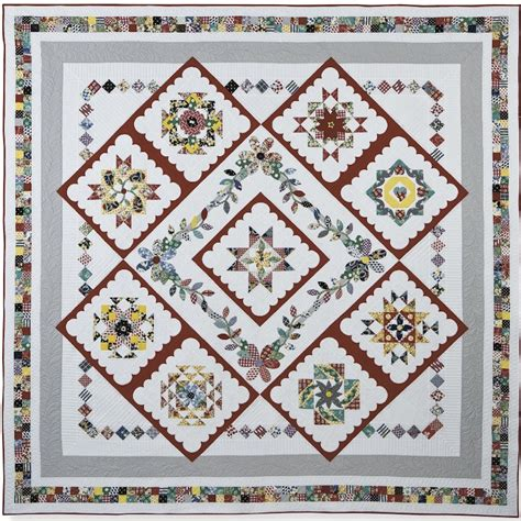 Quilt Diary by 2015 Kansas City Block Of The Month The Of