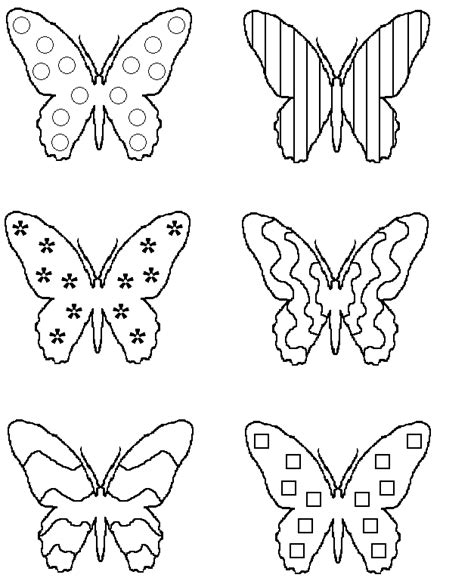 types of butterflies coloring pages butterflymatch gif 627 215 777 pixels pilbara prep