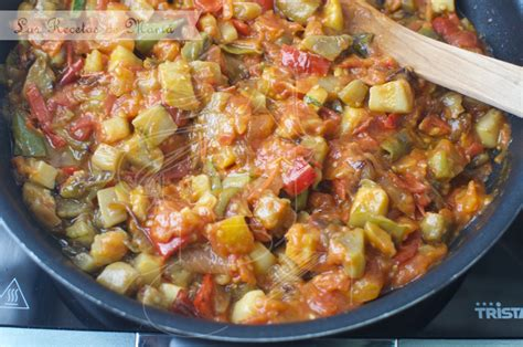 recetas de cocina pisto pisto las recetas de mam 225