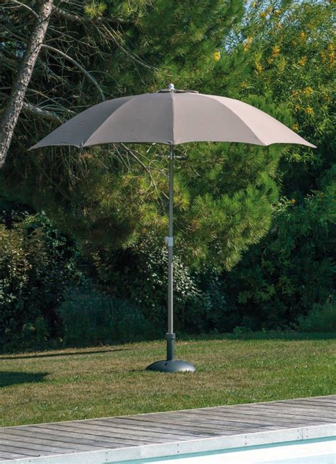 Parasol Rond Inclinable by Parasol Rond Inclinable Aluminium 2 70m Taupe