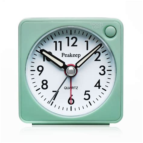no light alarm clock battery alarm clock operated with portability