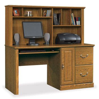 Sauder Orchard Computer Desk With Hutch by Sauder Orchard Computer Desk W Hutch