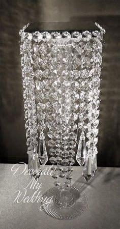 Crystal Chandelier Centerpiece Wedding Crystal Diy Chandelier Centerpiece